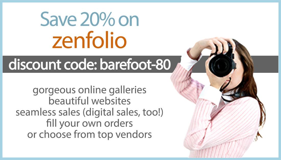 zenfolio discount code barefoot-20